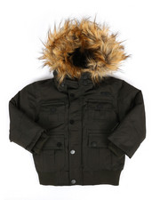 Outerwear - Bomber Parka Jacket (2T-4T)-2290882