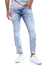 Mens-Holiday - ACID WASH DISTRESSED JEAN-2293161
