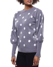 Fashion Lab - Polka Dot Sweater-2291197