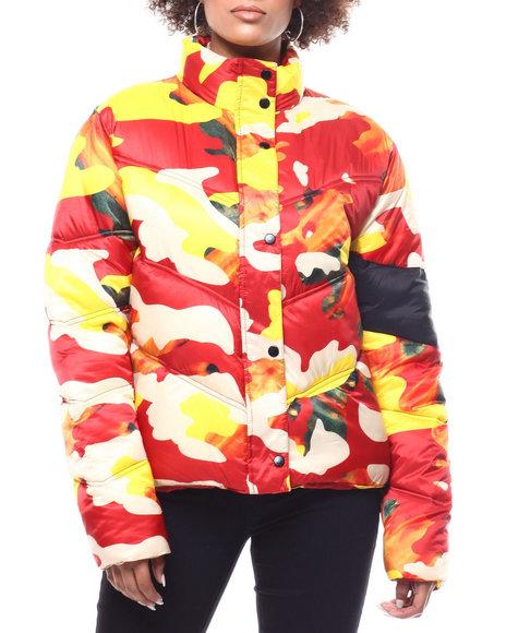 ARTISTIX - Cropped Puffer Jacket