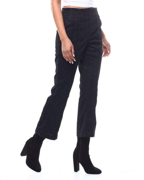 Fashion Lab - Metallic Wide Leg Trouser