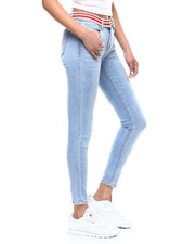 Almost Famous - 5 Pocket Belted Skinny Jean-2292565