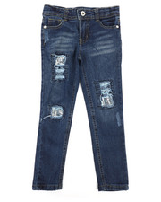 Dollhouse - Destructed Skinny Jeans (4-6X)-2293217