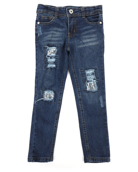 Dollhouse - Destructed Skinny Jeans (4-6X)