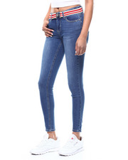 Almost Famous - 5 Pocket Belted Skinny Jean-2292556