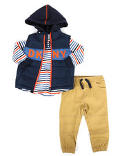 Boys - York Avenue 3Pc Vest Set (2T-4T)-2290628