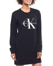 Calvin Klein - Monogram Lounge L/S Nighshirt-2293492