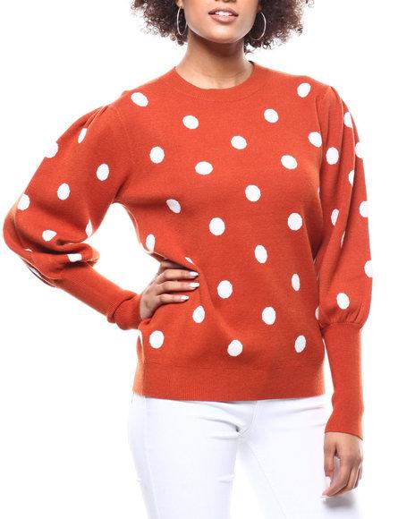 Fashion Lab - Polka Dot Sweater