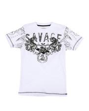 Boys - Savage Tee w/ Flocking (8-20)-2291233