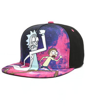 Hats - Rick & Morty Galaxy Run Snapback Hat-2291564