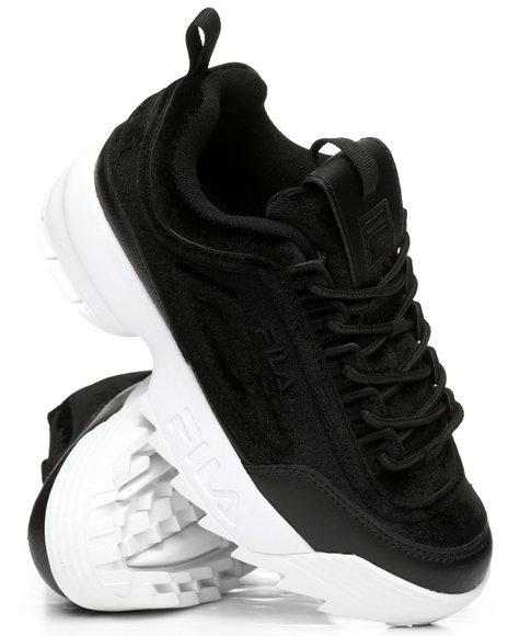 Fila - Disruptor II Premium Velour Sneakers
