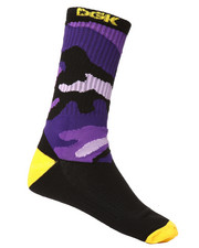 Accessories - Purp Crew Socks-2290863