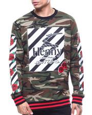 Henny Camo Rose Crewneck Sweatshirt