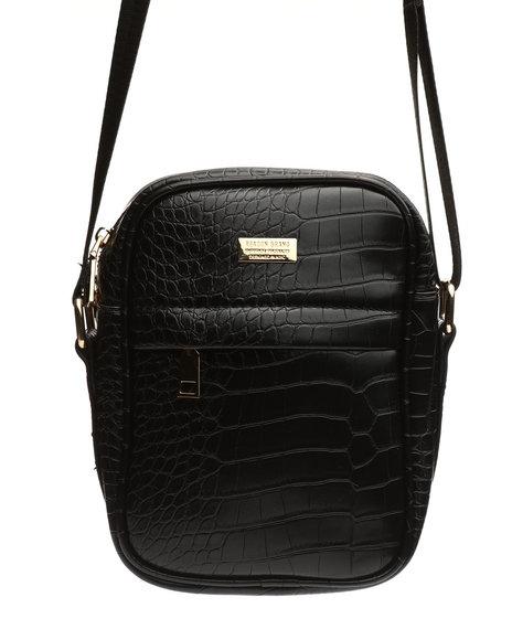 Reason - Croc Skin Crossbody Bag