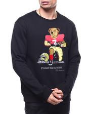 Hudson NYC - Football Protest Bear Crew Neck Sweatshirt-2294330
