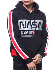 Hoodies - The Worm Space Reflective Classic Pull Over Hoody-2294288