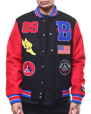 Black Pyramid - Track & Field Varsity Jacket-2294416
