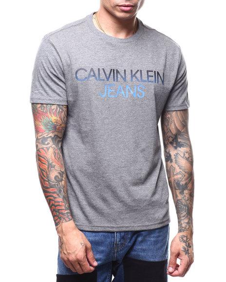 Calvin Klein - ombre logo tee
