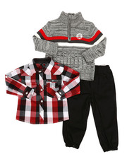 Enyce - 3 Piece Sweater & Pant Set (Infant)-2291155