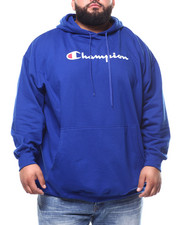 Champion - P/O Scripted Printed Logo Hoodie (B&T)-2290602
