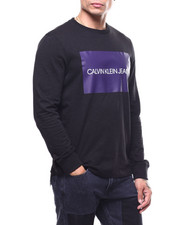 Calvin Klein - LONG SLEEVE BOX LOGO TEE-2291041