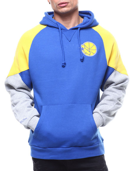 Mitchell & Ness - GOLDEN STATE WARRIORS Trading Block Hoody