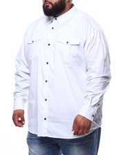 Button-downs - Basic Solid L/S Woven (B&T)-2294552