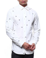 Mens-Holiday - GSTR DOT super slim L/S shirt-2293919