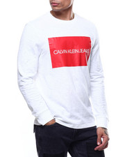 Calvin Klein - LONG SLEEVE BOX LOGO TEE-2291055
