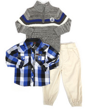 Boys - 3 Piece Sweater & Pant Set (2T-4T)-2291151