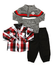 Boys - 3 Piece Sweater & Pant Set (Infant)-2292489