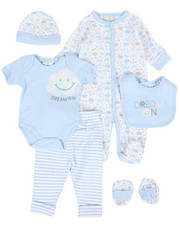 Boys - Dream Cloud Print 7 Piece Gift Set (Infant)-2293389