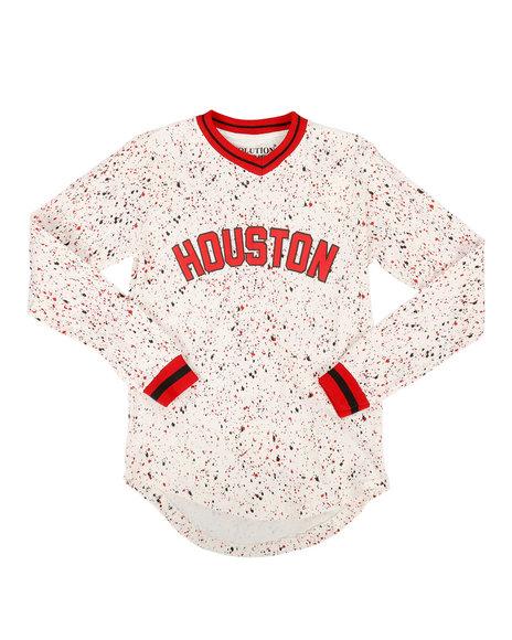 Arcade Styles - Long Sleeve Houston Jersey (8-20)