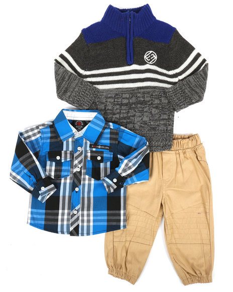 Enyce - 3 Piece Sweater & Pant Set (Infant)