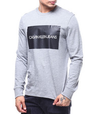 Calvin Klein - LONG SLEEVE BOX LOGO TEE-2291060