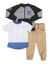 Boys - East Circle Avenue 3Pc Set (4-7)-2293435