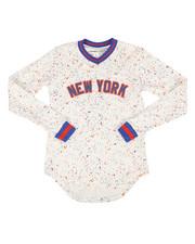 Jerseys - Long Sleeve New York Jersey (8-20)-2293407