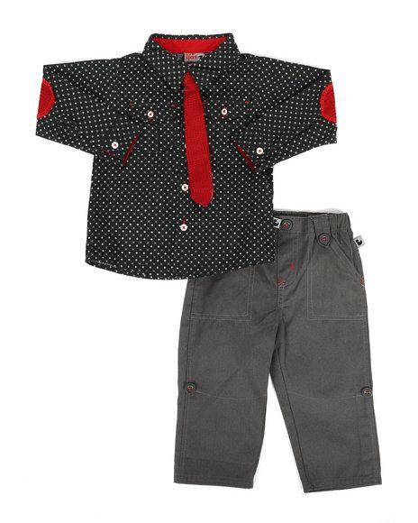 Duck Duck Goose - 3 Piece Knit Pant Set (12-24Mo)