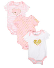 Duck Duck Goose - Hearts 3Pk Creeper Set (0-24Mo)-2293300