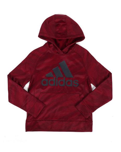 Adidas - Moto Camo Pullover Hoodie (8-20)