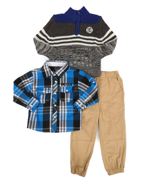 Enyce - 3 Piece Sweater & Pant Set (2T-4T)