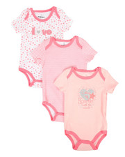 Duck Duck Goose - Love 3Pk Creeper Set (0-24Mo)-2293289