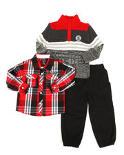Enyce - 3 Piece Sweater & Pant Set (2T-4T)-2292509
