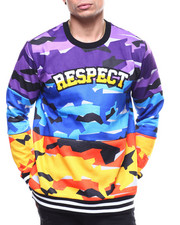 Buyers Picks - Camo Respect Crewneck Sweatshirt-2294394
