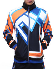 Outerwear - Abstract Track Jacket-2293958