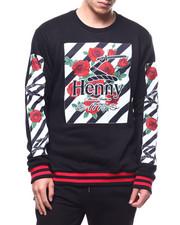 Men - Henny Camo Rose Crewneck Sweatshirt-2294370
