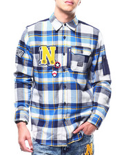 Parish - Plaid Woven Shirt-2295163
