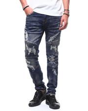 Jeans - TUCSON INDIGO MOTO JEAN BY PREME-2294149