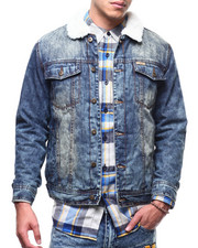 Parish - Sherpa Denim Jacket-2294978