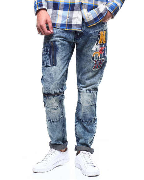 Parish - Varsity Patch Jean
